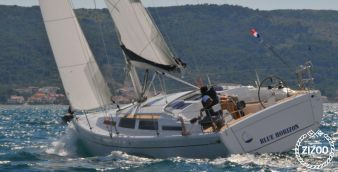 Sailboat Hanse 345 2013