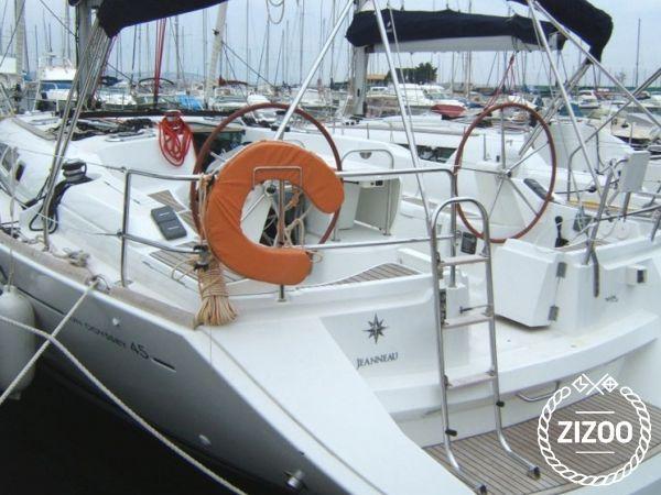 Jeanneau Sun Odyssey 45 2008 Sailboat