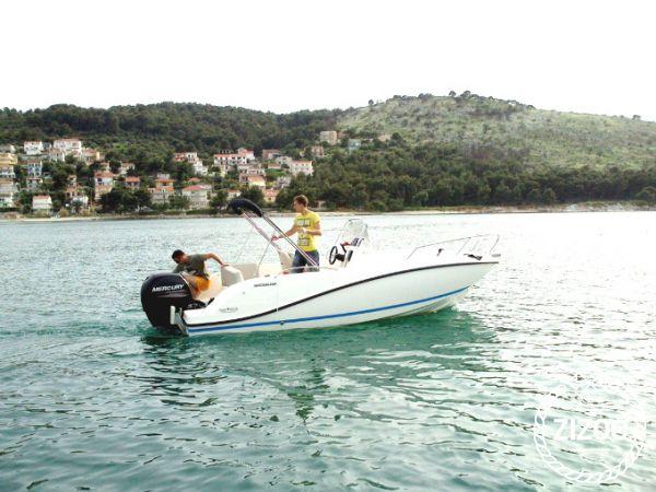 Imbarcazione a motore Quicksilver Activ 605 Open (2014)-3