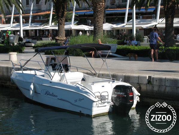 "Bluemax Blueline 21"" 2010 Speedboat"