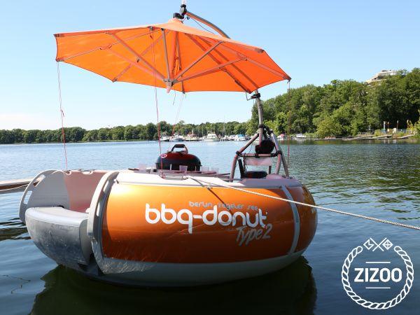 bbq-donut Grillboot Type 2 2014 Motor boat