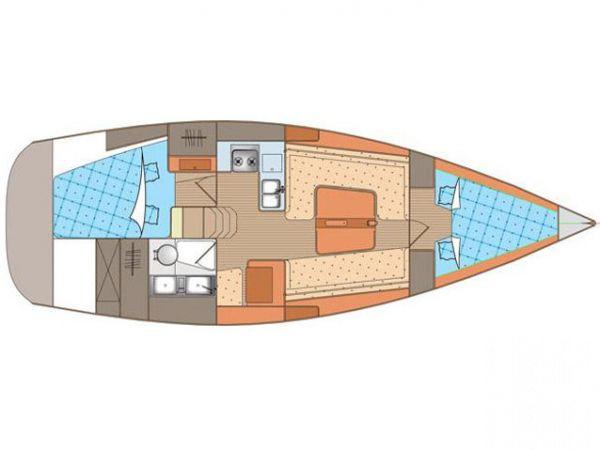 Segelboot Elan 340 (2010)-3