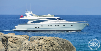 Motor boat Ferretti 680 2000