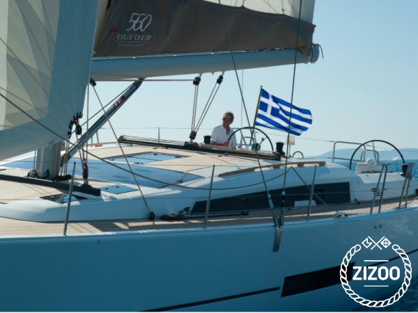Barca a vela Dufour 560 Grand Large - 2014 (raddobbo 2021)-2