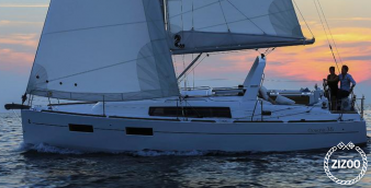 Sailboat Beneteau Oceanis 35 2016