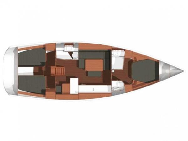 Sailboat Dufour 450 (2015)-3
