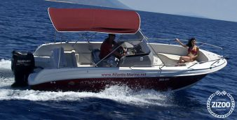 Motoscafo Atlantic Marine 670 Open 2010