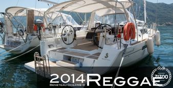 Sailboat Beneteau Oceanis 41 2014