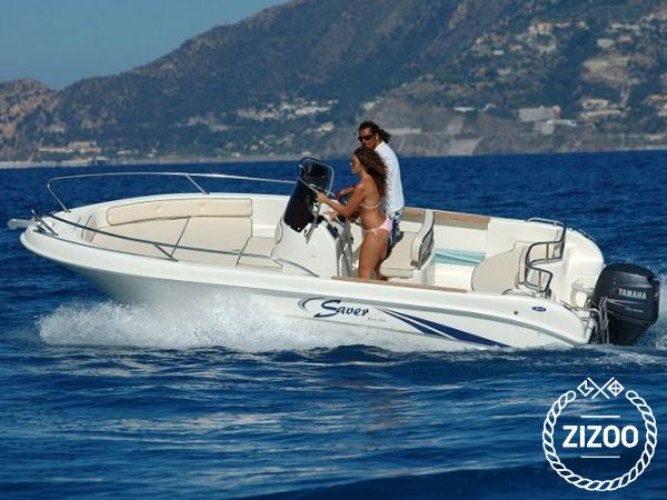 Saver 550 Open 2008 Speedboat