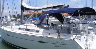 Sailboat Beneteau Oceanis Clipper 343 2007