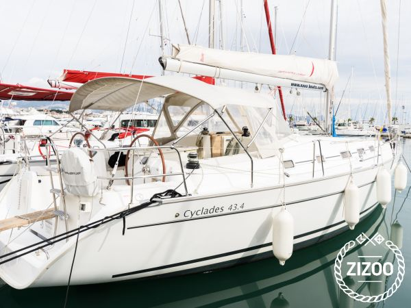 Beneteau Cyclades 43.4 2007 Sailboat