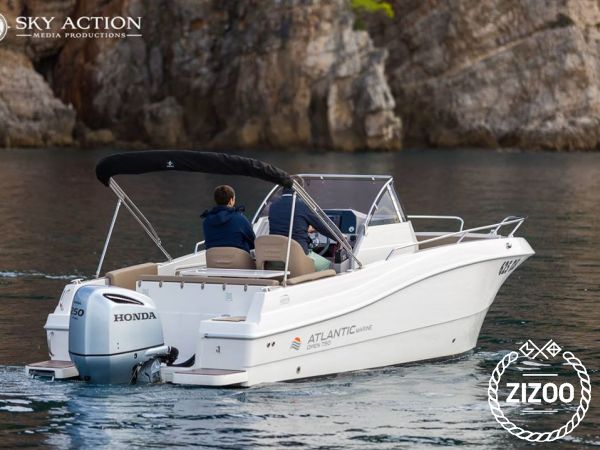 Motoscafo Atlantic Marine 750 Open (2017)-2