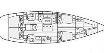 Segelboot Beneteau 50 1998