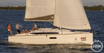 Segelboot Jeanneau Sun Odyssey 349 2017
