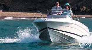 Barca a motore Cap Camarat 5.1 2011