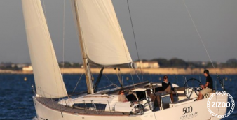 Sailboat Dufour 500 2014