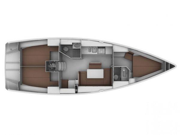 Segelboot Bavaria Cruiser 40 (2012)-4