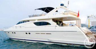Motor boat Ferretti 70 2012