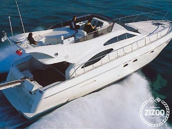Motorboot Ferretti 430 (2002)-3