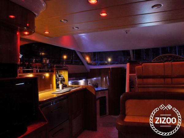 Motorboot Fairline Phantom 40 - 2010 (Umbau 2010)-4