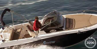 Motor boat Atlantic 730 2014