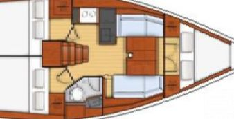 Segelboot Beneteau 343 2007