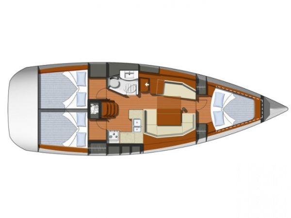 Segelboot Jeanneau Sun Odyssey 37 (2002)-3