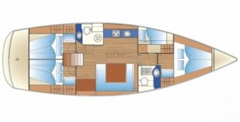 Sailboat Bavaria Cruiser 47 2009
