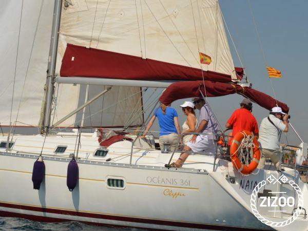 Segelboot Beneteau Oceanis 361 (2003)-3