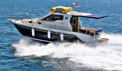 Imbarcazione a motore Sas Vektor 950 (2015)
