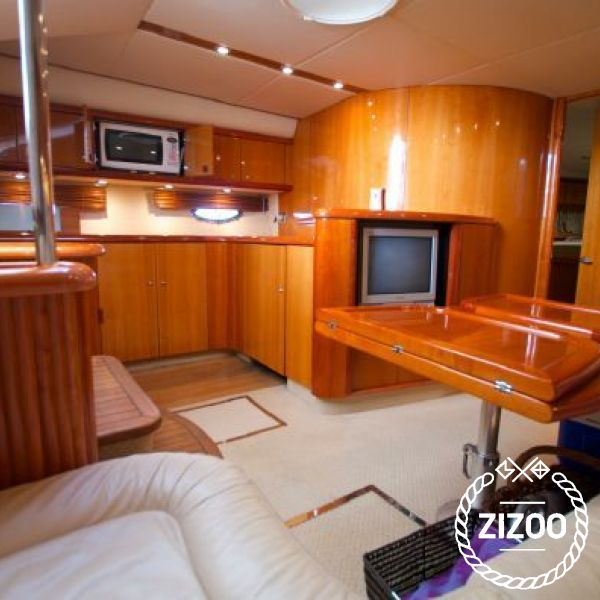 Motorboot Sunseeker Camargue 50 - 2004 (Umbau 2017)-4