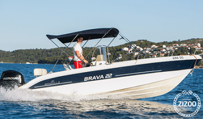 Speedboat Mingolla Brava 22 (2013)