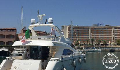 Motor boat Aicon 64 (2013)