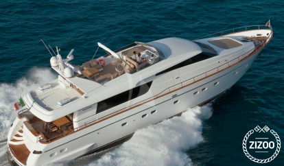 Motor boat San Lorenzo 82 (2013)