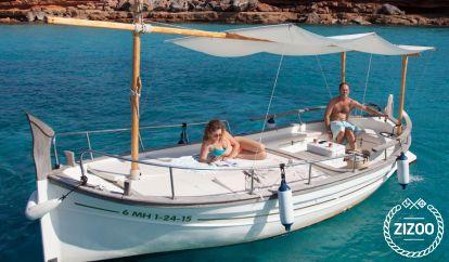 Imbarcazione a motore Menorquin Solarium 31 (2007)