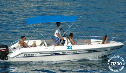 speedboat Romar Mirage 600 (2000)