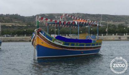 Barco a motor luzzu Maltese (1985)