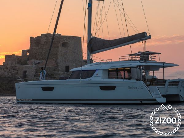 Catamaran Fountaine Pajot Saba 50 (2020)-0