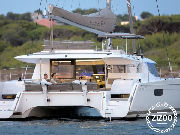 Catamaran Fountaine Pajot Saba 50 (2020)-4