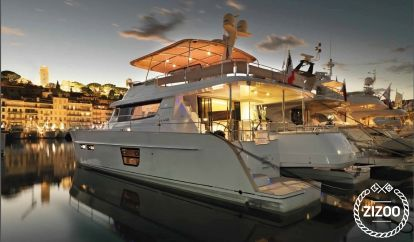 Motor boat Fountaine Pajot Queensland 55 (2010)