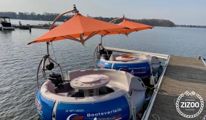 Motor boat bbq-donut Grillboot Type 2 (2014)