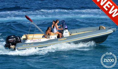 Motorboot Salpa Soleil 20 (2018)