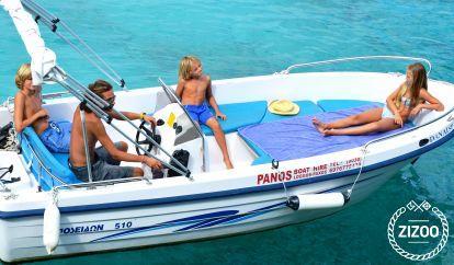 Speedboat Poseidon 480cc (2006)