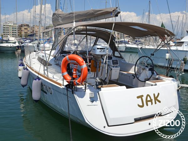 Barca a vela Jeanneau Sun Odyssey 449 (2017)-3