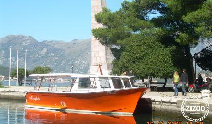 Motor boat Trawler 34 (2010)
