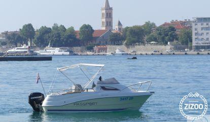 Motor boat Quicksilver Passport 430 (2006)