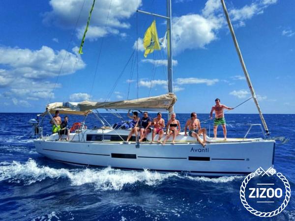 Segelboot Dufour 382 Grand Large (2017)-0