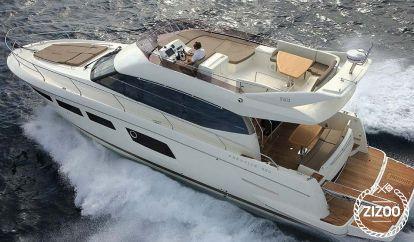 Motorboot Prestige 500 Fly (2012)