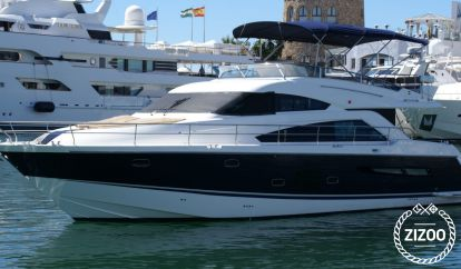 Motorboot Fairline Squadron 55 (2010)