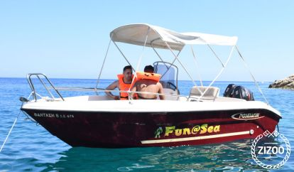 Sportboot Ranieri Poseidon Blue Water 4.80 (2015)